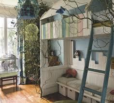 cabane chambre chambre d enfant 4 aménagements avec mezzanine cabane côté maison