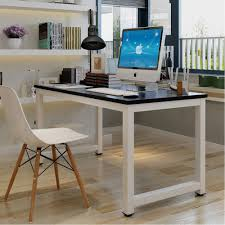 Computer Desks Amazon by Amazon Com Tribesigns Modern Simple Style Computer Desk Pc