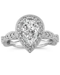 pear engagement ring pear shaped engagement rings