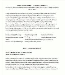 Sample Resume For Business Analyst by Business Analyst Resume Sample And Tips