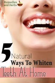 5 natural ways to whiten teeth at home diy home remedies