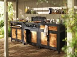 meuble cuisine d été meuble cuisine d t exterieur meuble de cuisine exterieur