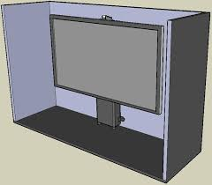 Pop Up Tv Cabinets Home Automation Pop Up Tv Lift Cabinet Installation Instructions