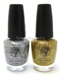 2 x w7 glitter nail polish varnish gold u0026 silver dazzle nail