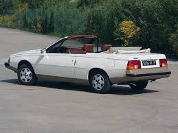 a look at the heuliez built renault fuego turbo convertible ran