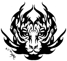 tiger tribal by yako on deviantart
