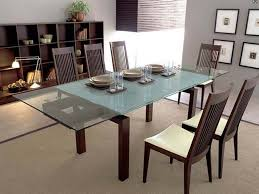 Glass Dining Room Tables With Extensions by Expandable Glass Dining Room Tables Expandable Glass Dining Table