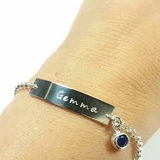 baby name bracelet baby bracelet with birthstone baby name bracelet gold baby bar