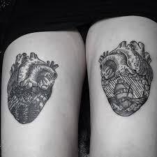 heart thigh tattoos best tattoo ideas gallery