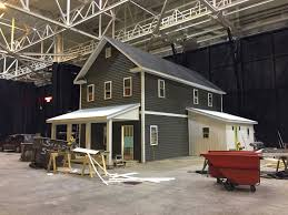 Big Farmhouse Urban Farmhouse Nears Completion At Great Big Home Garden Show