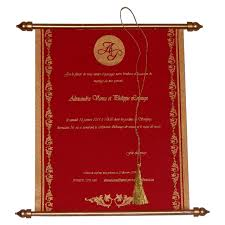 indian wedding cards swc 520 with shimmery finish paper box with