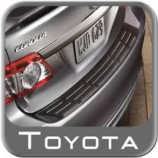 toyota corolla auto parts 2011 2013 toyota corolla rear bumper protector from