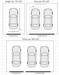 size of 2 car garage standard 2 car garage size simple kitchen and bathroom design