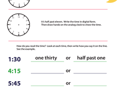 time worksheets u0026 free printables page 5 education com