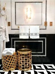 gold bathroom ideas black white and gold bathroom black white gold black white and gold