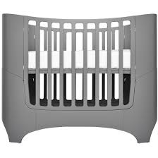 leander collection 4 in 1 convertible crib in grey modernnursery com