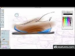 shoe sketching brush tip tutorial in sketchbook pro youtube