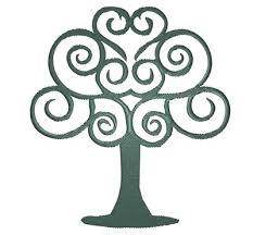 swirly tree embroidery design annthegran