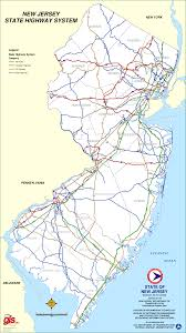 Map Nj New Jersey Highway Map Montana Map