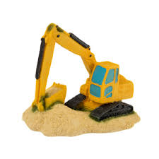 digger truck aquarium ornament pets at home