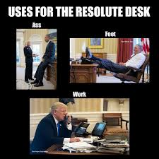 uses for the resolute desk the donald