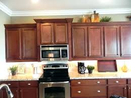 under cabinet microwave height cabinet depth microwave image of incredible kitchen cabinet end
