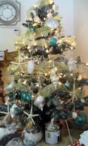 theme christmas tree 25 coastal christmas trees inspired by the sea