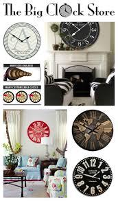 best 25 big clocks ideas on pinterest wall clock decor stair