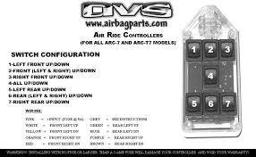 black 7 switch series rocker avs
