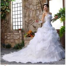wedding dresses big trailing europe and america s type i do