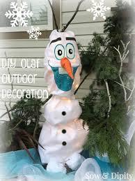 light up xmas decorations diy olaf outdoor christmas decoration olaf outdoor christmas