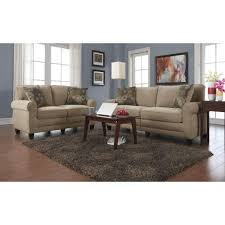 At Home Furniture Modesto by Serta Rta Trinidad Chocolate Espresso Polyester Sofa Cr43540pb