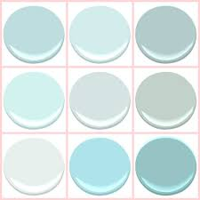 benjamin moore birds egg clear skies gossamer blue icey moon