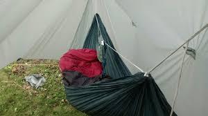 one great dewdrop my mostly diy hammock camp