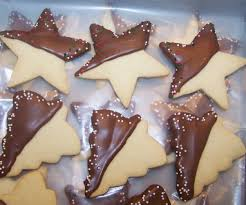 chocolate dipped shortbread christmas cookies beth ann u0027s