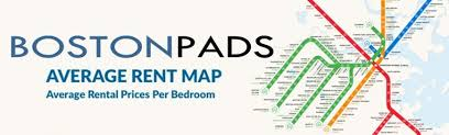 Average Rent Cost by Average Boston Apartment Rent Prices By T Stop Boston Pads