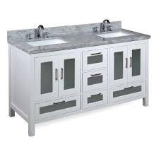 kitchen bath collection manhattan 60 inch double carrara white u2013 kitchenbathcollection