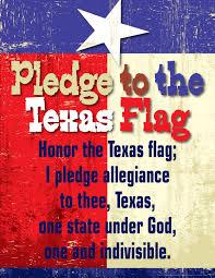 I Pledge Of Allegiance To The Flag Pledge To The Texas Flag Chart Barker Creek