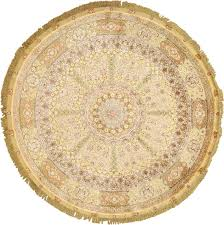 Round Yellow Rug Magnificent Round Vintage Tabriz Persian Rug 51130 By Nazmiyal