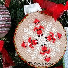 gera by kyoko maruoka ornaments cross stitch pattern