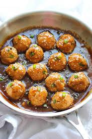 light and easy dinner asian quinoa meatballs damn delicious