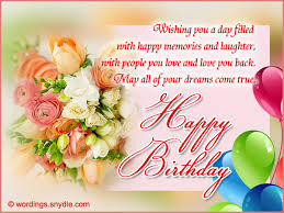 wish you happy birthday cards best 50 birthday card messages what - Birthday Card Messages