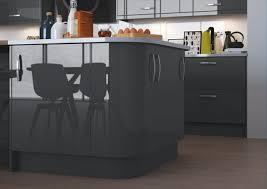sol stratifié pour cuisine cuisine meuble cuisine et îlot de cuisine couleur anthracite sol