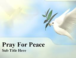 peace powerpoint template peace dove business card template layout