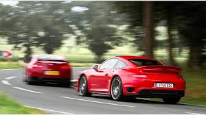 porsche 911 review 2014 porsche 911 turbo s vs nissan gt r 2014 review by car magazine
