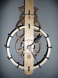 download free simple wooden gear clock plans plans diy workbench