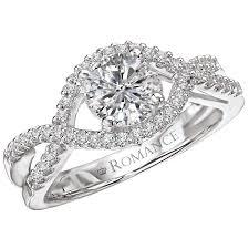 semi mount engagement rings classic semi mount ring albert s jewelers diamonds