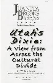 The Blind Man St George Utah Utah U0027s Dixie Juanita Brooks Lecture Series