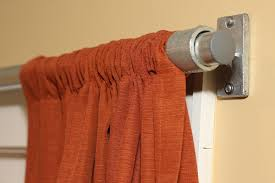 diy pipe curtain rod plans and inspiration simplified building