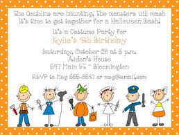 halloween invitation wordings for kids u2013 fun for christmas